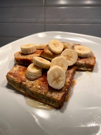 Whole wheat French Toast!